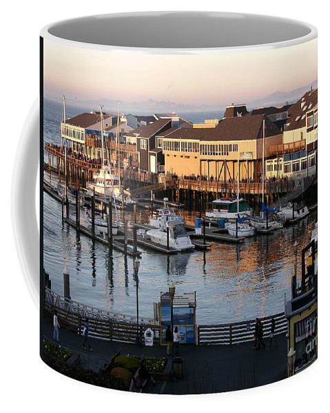 San Francisco Coffee Mug featuring the photograph Pier 39 In The Sunshine by Carol Groenen
