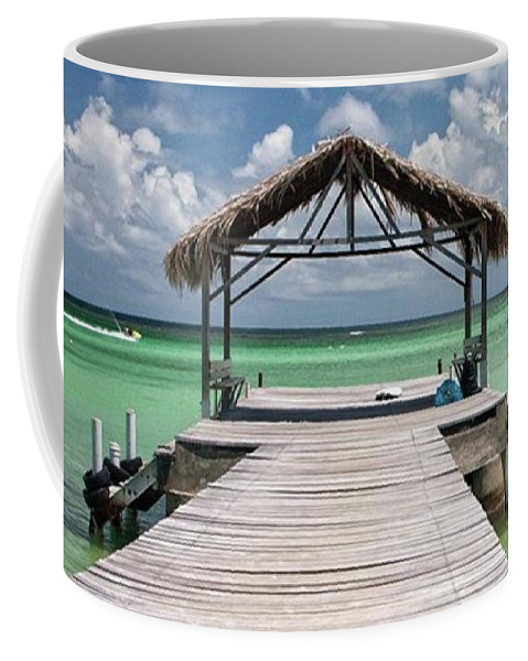 Beautiful Coffee Mug featuring the photograph Pigeon Point, Tobago#pigeonpoint by John Edwards