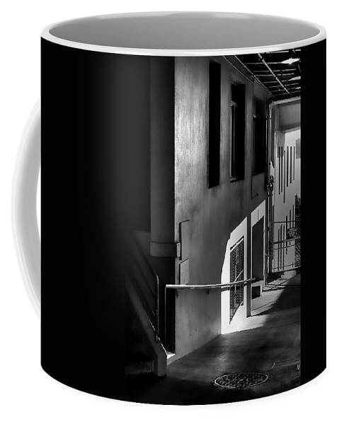 Pike Place Market Coffee Mug featuring the photograph Pike Place Corridor by David Patterson
