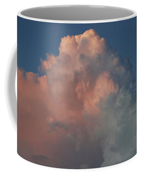 Clouds Coffee Mug featuring the photograph Pink And Grey by Rob Hans