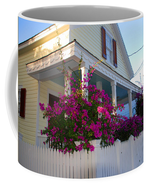 Flowers Coffee Mug featuring the photograph Pink Bougainvilleas by Susanne Van Hulst
