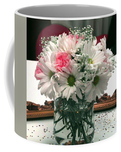 Pat Turner Coffee Mug featuring the photograph Pink Flower by Pat Turner
