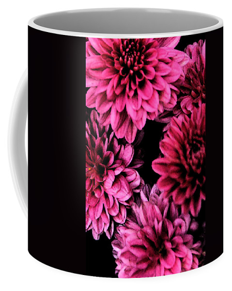 Flowers Coffee Mug featuring the photograph Pink Flowers by Carol Eliassen