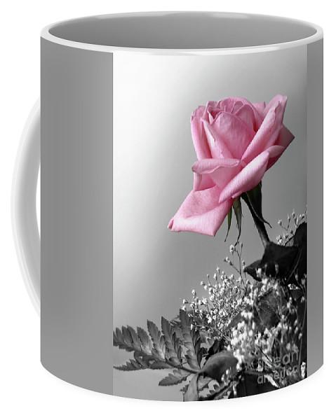 Anniversary Coffee Mug featuring the photograph Pink Petals by Carlos Caetano