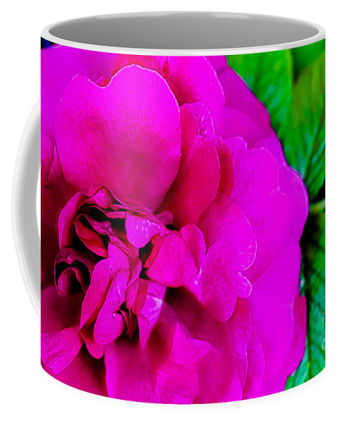 Pink Coffee Mug featuring the photograph Pink Rose by Amber D Hathaway Photography