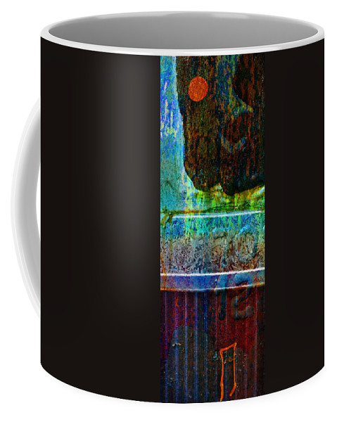 Pi Coffee Mug featuring the photograph piNsky by Skip Hunt