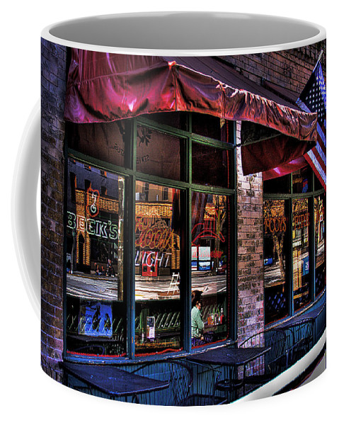 Pioneer Square Coffee Mug featuring the photograph Pioneer Square Tavern by David Patterson