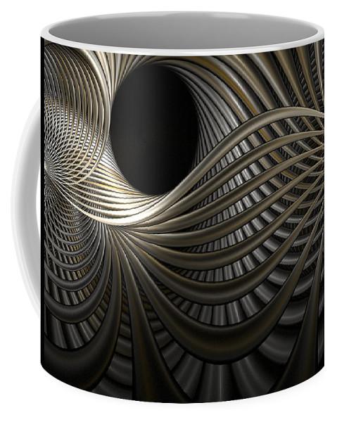 Fractal Coffee Mug featuring the digital art Pipe Dreams by Amorina Ashton