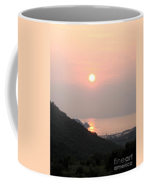 Sunset Coffee Mug featuring the photograph Piran's Sunset II by Dragica Micki Fortuna