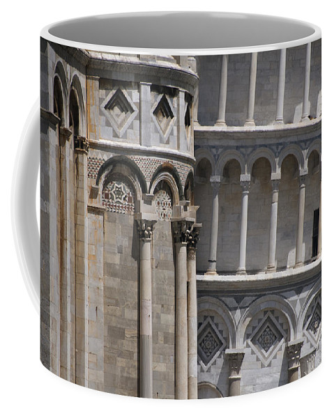 Pisa Coffee Mug featuring the photograph Pisa Leaning Tower 4637 by Bob Neiman