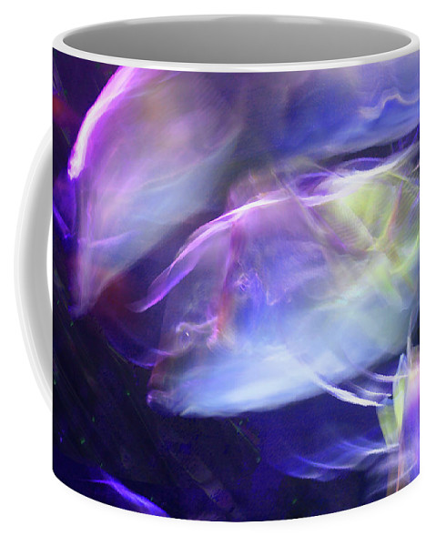 Abstract Coffee Mug featuring the photograph Pisces by Steve Karol