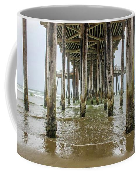 Ocean Coffee Mug featuring the photograph Pismo Beach Pier by Starr Shepherd