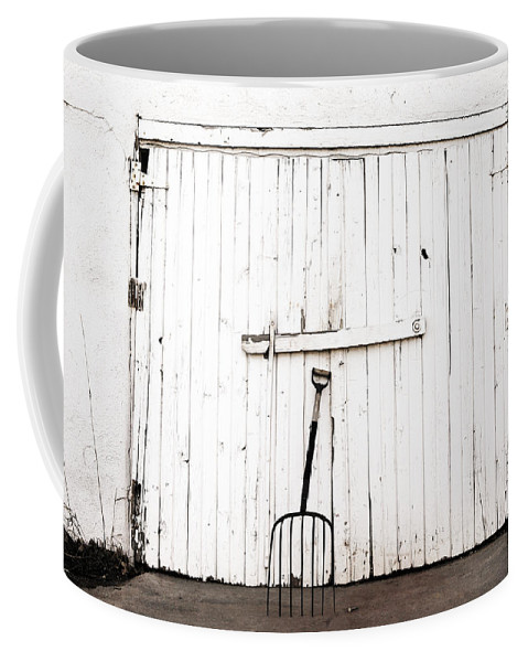 Americana Coffee Mug featuring the photograph Pitch Fork by Marilyn Hunt