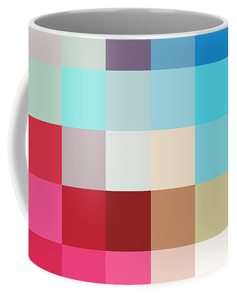 Pixel Coffee Mug featuring the photograph Pixel Art 2 by Delphimages Photo Creations
