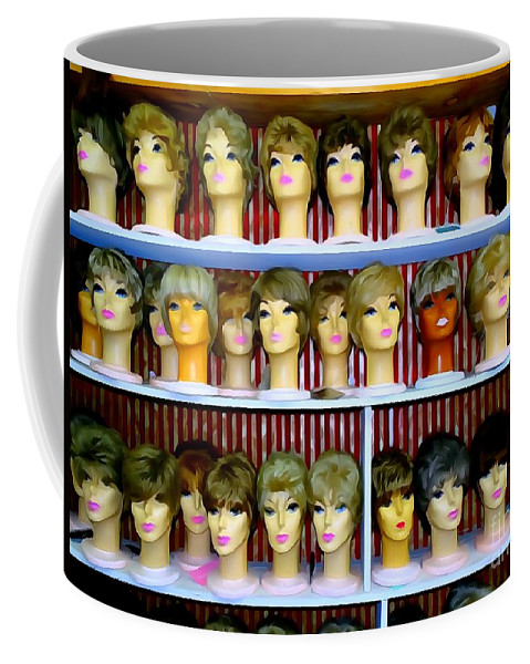 Pop Art Coffee Mug featuring the photograph Pixie Chicks by Ed Weidman