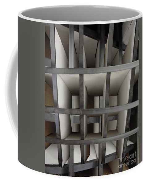 Perspective Coffee Mug featuring the digital art Plain Perspective by Ron Bissett