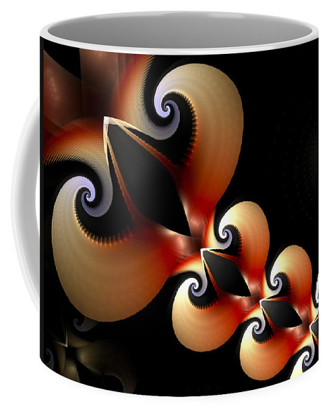 Love Coffee Mug featuring the digital art Plaited Love by Amorina Ashton