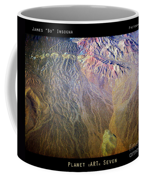 Abstract Coffee Mug featuring the photograph Planet Earth Seven by James BO Insogna