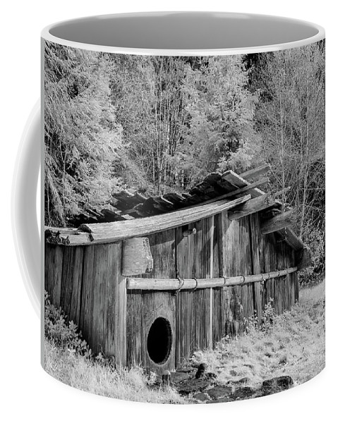 Plank House Coffee Mug featuring the photograph Plank House by Greg Nyquist