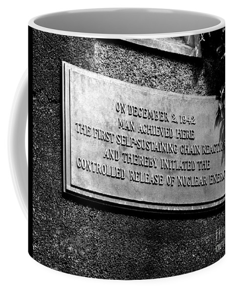 Science Coffee Mug featuring the photograph Plaque Commemorating Chicago Pile-1 by Science Source