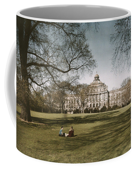 library Of Congress Coffee Mug featuring the photograph Plate 8 X 10 by Charles Martin