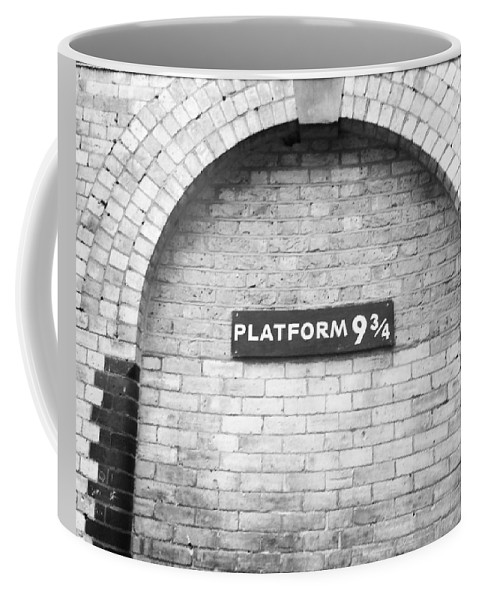 Harry Potter Coffee Mug featuring the photograph Platform 9 3/4 by Krista Pastecchi