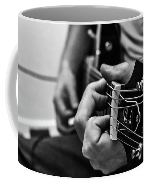 Coffee Mug featuring the photograph Play Me A Song by Josiane Smith