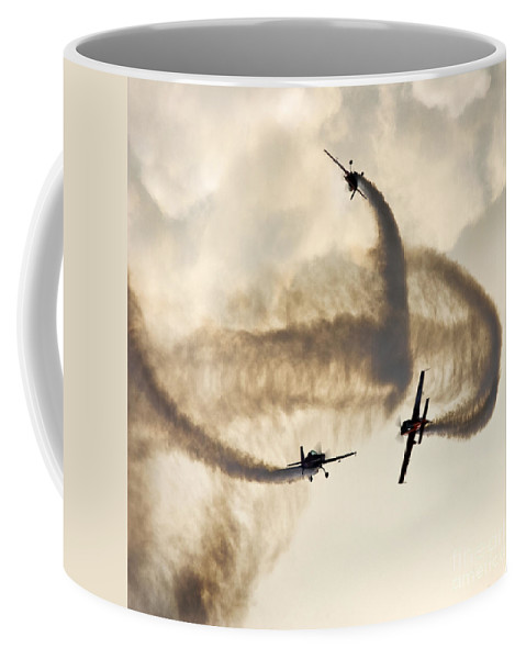 Blades Extra 300 Coffee Mug featuring the photograph Playing In The Clouds by Angel Tarantella