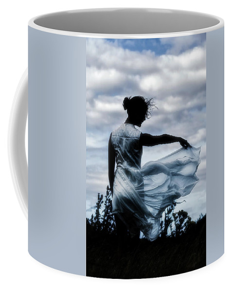 Nature Coffee Mug featuring the photograph Playing With The Wind by Joana Kruse