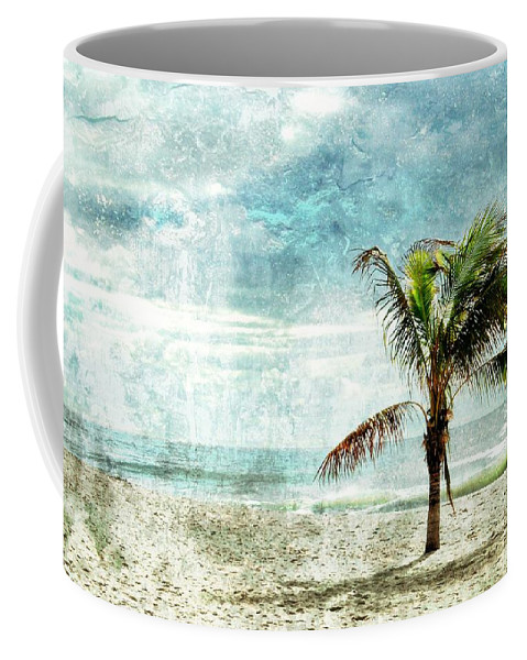 Jersey Shore Coffee Mug featuring the photograph Pleasant Blue - Jersey Shore by Angie Tirado