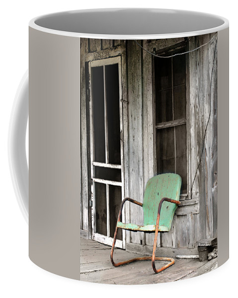 Americana Coffee Mug featuring the photograph Plenty Of Time by Marilyn Hunt