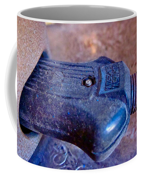 Photograph Of Plug Coffee Mug featuring the photograph Plugged In by Gwyn Newcombe