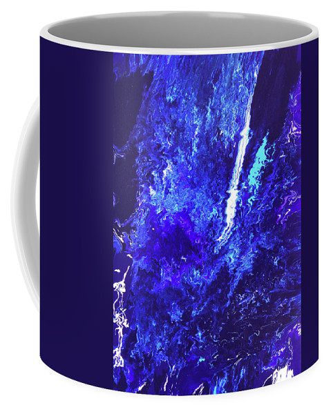 Fusionart Coffee Mug featuring the painting Plunge by Ralph White