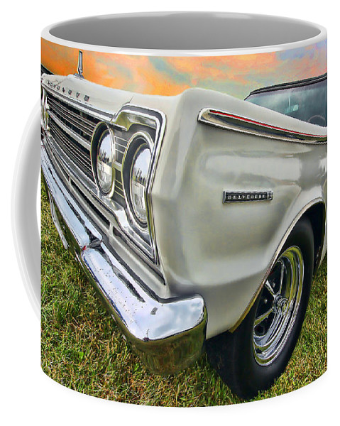 1967 Coffee Mug featuring the photograph Plymouth Belvedere II by Gordon Dean II