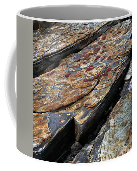 Point Coffee Mug featuring the photograph Point Lobos Rock 1 by Bob Neiman