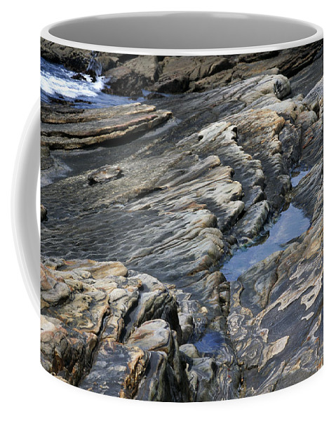 Point Coffee Mug featuring the photograph Point Lobos Rock 4 by Bob Neiman