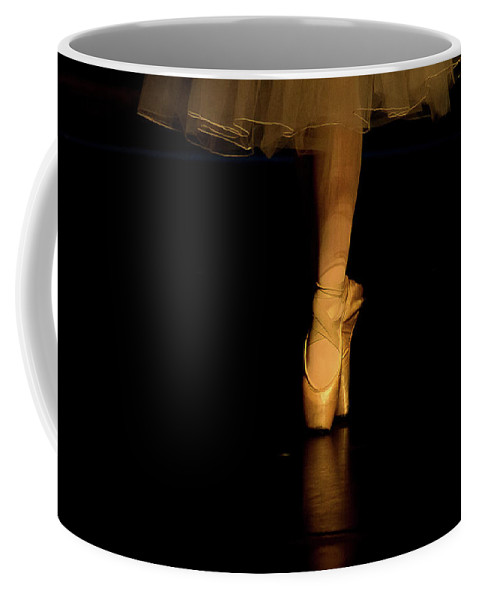 Dance Coffee Mug featuring the photograph Pointe by Starr Shepherd
