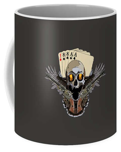 Playing Cards Coffee Mug featuring the digital art Poker Run by Kevin Sweeney