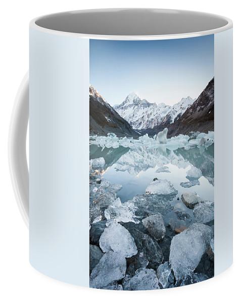 Glacier Coffee Mug featuring the photograph 'polarized' by Still I Wander