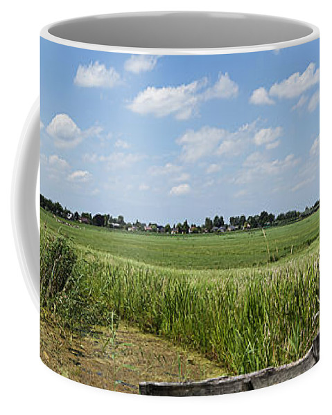 Polder Coffee Mug featuring the photograph Polder Near Reeuwijk-1 by Casper Cammeraat