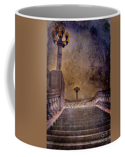 Architecture Coffee Mug featuring the photograph Politics As Usual by Lois Bryan