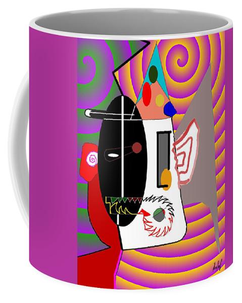 Politic Coffee Mug featuring the digital art Politics by Helmut Rottler