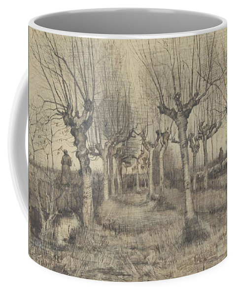 Nature Coffee Mug featuring the painting Pollard Birches Nuenen March 1884 Vincent Van Gogh 1853 1890 by Artistic Panda