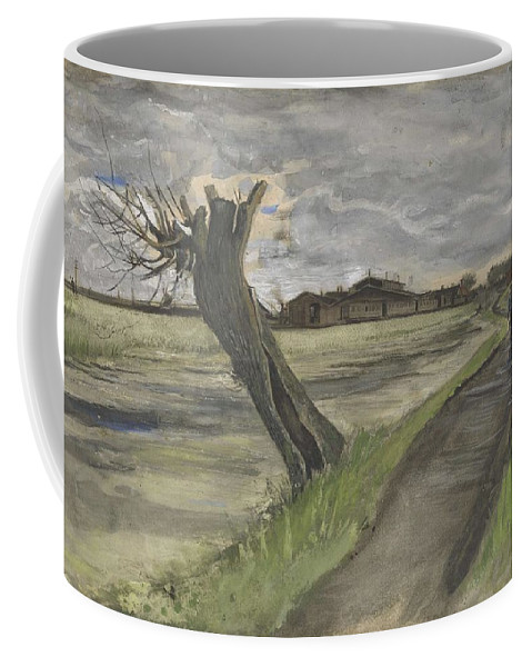 Nature Coffee Mug featuring the painting Pollard Willow The Hague July 1882 Vincent Van Gogh 1853 1890 by Artistic Panda