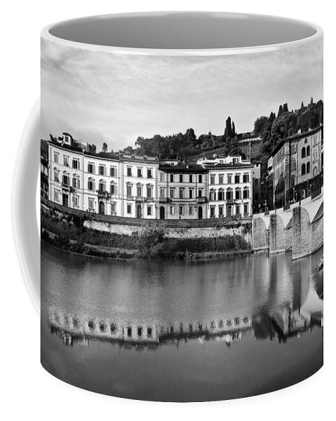 Ponte Alla Grazie Coffee Mug featuring the photograph Ponte Alla Grazie by Mick Burkey