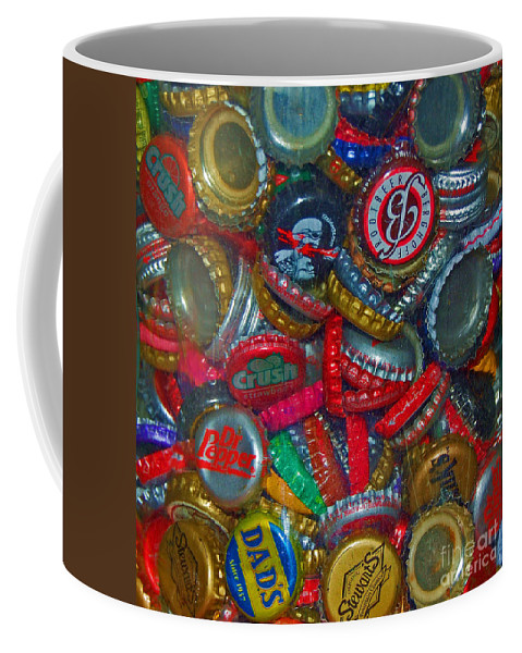 Bottles Coffee Mug featuring the photograph Pop Art by Debbi Granruth