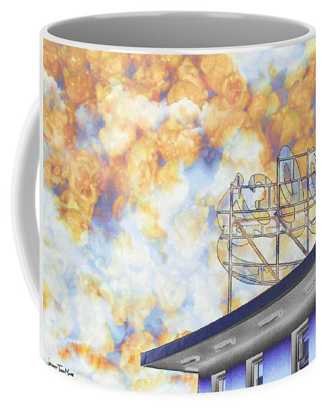 Dolles Coffee Mug featuring the photograph Popcorn Dolles by Jeffrey Todd Moore