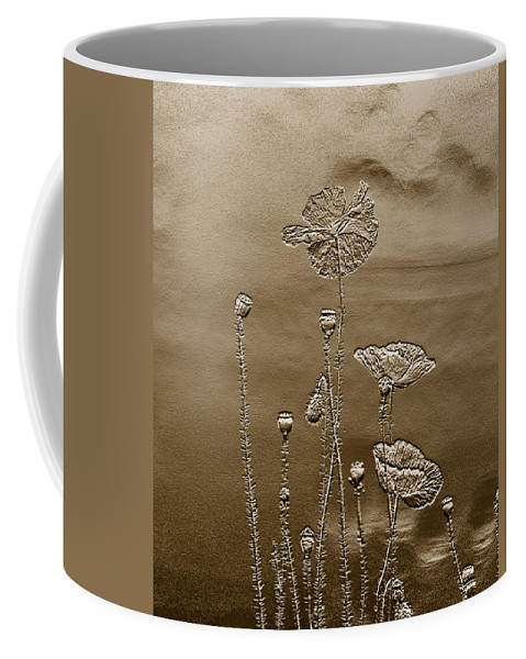 Coffee Mug featuring the photograph Poppies by Leanne Lei