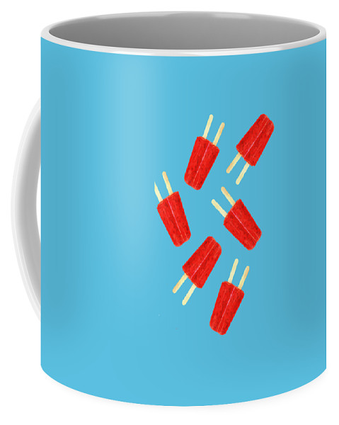Popsicle Coffee Mug featuring the photograph Popsicle T-shirt by Edward Fielding