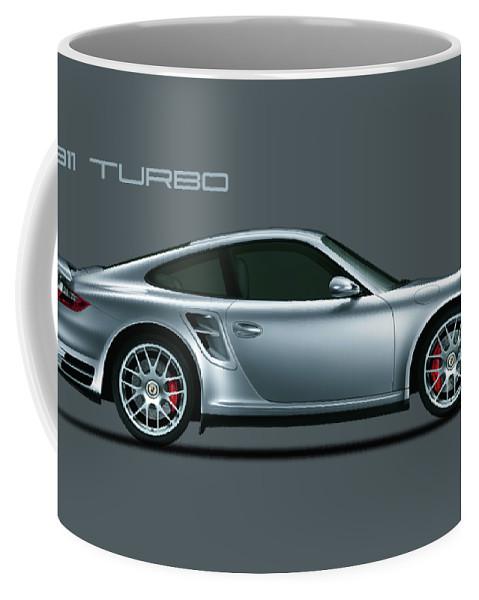 Porsche Coffee Mug featuring the photograph Porsche 911 Turbo by Mark Rogan